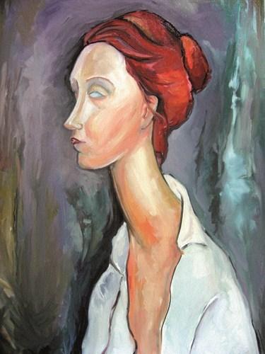 Amadeo Modigliani, Ritratto di Lunia Czechowska, 1919